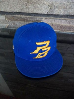 snapback caps bordir  point blank bahan rafel ori